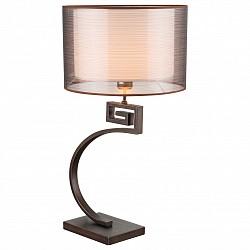Настольная лампа GloboС абажуром<br>Артикул - GB_69009T,Бренд - Globo (Австрия),Коллекция - Juan,Гарантия, месяцы - 24,Высота, мм - 650,Размер упаковки, мм - 500х500х550,Тип лампы - компактная люминесцентная [КЛЛ] ИЛИнакаливания ИЛИсветодиодная [LED],Общее кол-во ламп - 1,Напряжение питания лампы, В - 220,Максимальная мощность лампы, Вт - 40,Лампы в комплекте - отсутствуют,Цвет плафонов и подвесок - белый, коричневый,Тип поверхности плафонов - матовый, прозрачный,Материал плафонов и подвесок - текстиль,Цвет арматуры - коричневый,Тип поверхности арматуры - матовый,Материал арматуры - металл,Тип цоколя лампы - E14,Класс электробезопасности - II,Степень пылевлагозащиты, IP - 20,Диапазон рабочих температур - комнатная температура<br>
