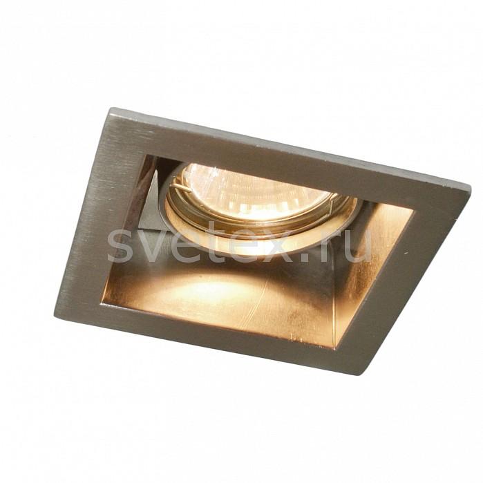 Фото Встраиваемый светильник Arte Lamp Cryptic A8050PL-1SS