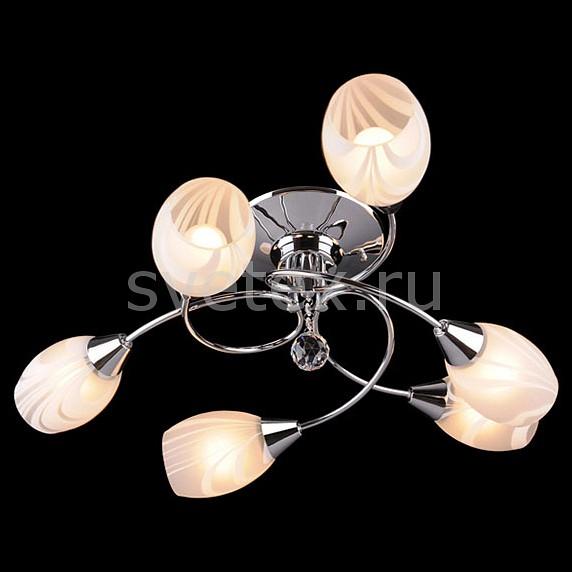 Потолочная люстра ОптимаХРУСТАЛЬНЫЕ светильники<br>Артикул - EV_4940,Бренд - Оптима (Китай),Коллекция - 2275,Гарантия, месяцы - 24,Высота, мм - 250,Диаметр, мм - 630,Тип лампы - компактная люминесцентная [КЛЛ] ИЛИнакаливания ИЛИсветодиодная [LED],Общее кол-во ламп - 6,Напряжение питания лампы, В - 220,Максимальная мощность лампы, Вт - 60,Лампы в комплекте - отсутствуют,Цвет плафонов и подвесок - белый полосатый, неокрашенный,Тип поверхности плафонов - матовый, прозрачный,Материал плафонов и подвесок - стекло, хрусталь,Цвет арматуры - хром,Тип поверхности арматуры - глянцевый,Материал арматуры - металл,Количество плафонов - 6,Тип цоколя лампы - E27,Класс электробезопасности - I,Общая мощность, Вт - 360,Степень пылевлагозащиты, IP - 20,Диапазон рабочих температур - комнатная температура<br>