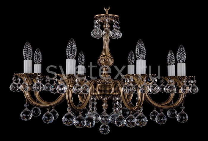 Фото Подвесная люстра Bohemia Ivele Crystal 1702 1702/8/A/FP/Balls