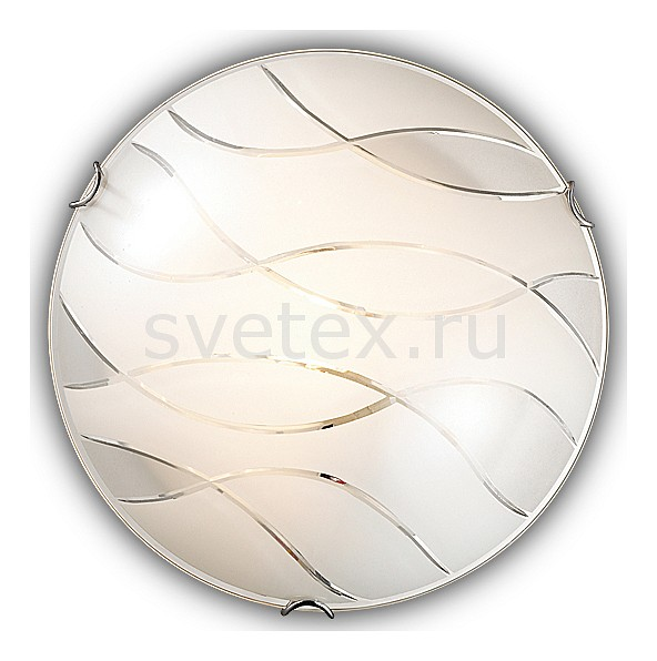 Накладной светильник SonexКруглые<br>Артикул - SN_144_K,Бренд - Sonex (Россия),Коллекция - Mona,Гарантия, месяцы - 24,Выступ, мм - 100,Диаметр, мм - 300,Тип лампы - компактная люминесцентная [КЛЛ] ИЛИнакаливания ИЛИсветодиодная [LED],Общее кол-во ламп - 2,Напряжение питания лампы, В - 220,Максимальная мощность лампы, Вт - 60,Лампы в комплекте - отсутствуют,Цвет плафонов и подвесок - белый с прозрачным рисунком,Тип поверхности плафонов - матовый,Материал плафонов и подвесок - стекло,Цвет арматуры - хром,Тип поверхности арматуры - глянцевый,Материал арматуры - металл,Количество плафонов - 1,Возможность подлючения диммера - можно, если установить лампу накаливания,Тип цоколя лампы - E27,Класс электробезопасности - I,Общая мощность, Вт - 120,Степень пылевлагозащиты, IP - 20,Диапазон рабочих температур - комнатная температура<br>