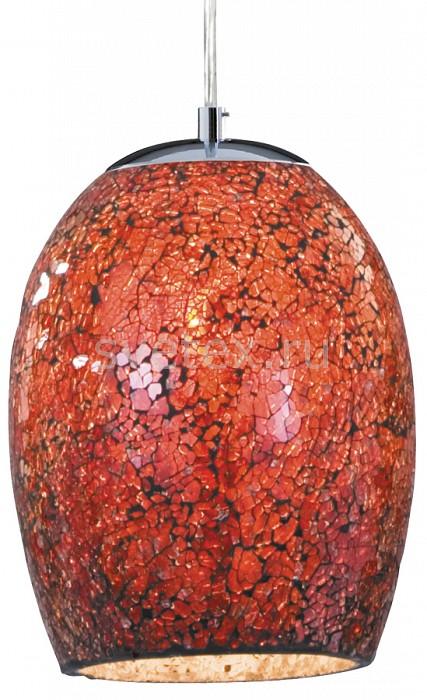 Подвесной светильник Arte LampБарные<br>Артикул - AR_A8061SP-1CC,Бренд - Arte Lamp (Италия),Коллекция - Mosaic,Гарантия, месяцы - 24,Время изготовления, дней - 1,Высота, мм - 1750,Диаметр, мм - 180,Размер упаковки, мм - 295x235x235,Тип лампы - компактная люминесцентная [КЛЛ] ИЛИнакаливания ИЛИсветодиодная [LED],Общее кол-во ламп - 1,Напряжение питания лампы, В - 220,Максимальная мощность лампы, Вт - 60,Лампы в комплекте - отсутствуют,Цвет плафонов и подвесок - красный,Тип поверхности плафонов - матовый, рельефный,Материал плафонов и подвесок - стекло,Цвет арматуры - хром,Тип поверхности арматуры - глянцевый,Материал арматуры - металл,Количество плафонов - 1,Возможность подлючения диммера - можно, если установить лампу накаливания,Тип цоколя лампы - E27,Класс электробезопасности - I,Степень пылевлагозащиты, IP - 20,Диапазон рабочих температур - комнатная температура,Дополнительные параметры - способ крепления светильника к потолку — на монтажной пластине, плафон выполнен в технике мозаика<br>