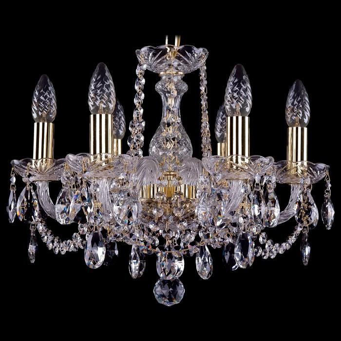 Фото Подвесная люстра Bohemia Ivele Crystal 1402 1402/6/141/G