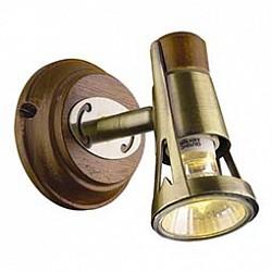 Спот Odeon LightС 1 лампой<br>Артикул - OD_1972_1W,Бренд - Odeon Light (Италия),Коллекция - Virsu,Гарантия, месяцы - 24,Тип лампы - галогеновая,Общее кол-во ламп - 1,Напряжение питания лампы, В - 220,Максимальная мощность лампы, Вт - 50,Лампы в комплекте - галогеновая GU10,Цвет арматуры - бронза, коричневый,Тип поверхности арматуры - матовый,Материал арматуры - металл, дерево,Возможность подлючения диммера - можно,Форма и тип колбы - полусферическая с рефлектором,Тип цоколя лампы - GU10,Класс электробезопасности - I,Степень пылевлагозащиты, IP - 20,Диапазон рабочих температур - комнатная температура,Дополнительные параметры - поворотный светильник<br>