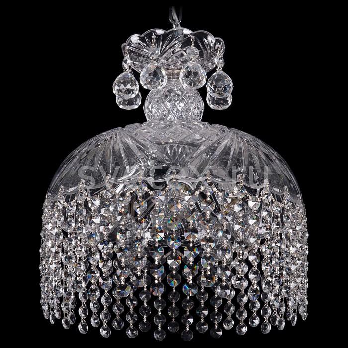 Подвесной светильник Bohemia Ivele CrystalПодвесные светильники<br>Артикул - BI_7715_30_Ni_R,Бренд - Bohemia Ivele Crystal (Чехия),Коллекция - 7715,Гарантия, месяцы - 24,Высота, мм - 300,Диаметр, мм - 300,Размер упаковки, мм - 380x380x440,Тип лампы - компактная люминесцентная [КЛЛ] ИЛИнакаливания ИЛИсветодиодная [LED],Общее кол-во ламп - 5,Напряжение питания лампы, В - 220,Максимальная мощность лампы, Вт - 40,Лампы в комплекте - отсутствуют,Цвет плафонов и подвесок - неокрашенный,Тип поверхности плафонов - прозрачный,Материал плафонов и подвесок - хрусталь,Цвет арматуры - никель, неокрашенный,Тип поверхности арматуры - матовый,Материал арматуры - металл, стекло,Возможность подлючения диммера - можно, если установить лампу накаливания,Тип цоколя лампы - E14,Класс электробезопасности - I,Общая мощность, Вт - 200,Степень пылевлагозащиты, IP - 20,Диапазон рабочих температур - комнатная температура,Дополнительные параметры - способ крепления светильника к потолку - на крюке, указана высота светильники без подвеса<br>