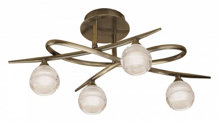 Люстра на штанге MantraЛюстры<br>Артикул - MN_1823,Бренд - Mantra (Испания),Коллекция - Loop,Гарантия, месяцы - 24,Время изготовления, дней - 1,Длина, мм - 520,Ширина, мм - 335,Высота, мм - 220,Тип лампы - галогеновая,Общее кол-во ламп - 4,Напряжение питания лампы, В - 220,Максимальная мощность лампы, Вт - 33,Цвет лампы - белый теплый,Лампы в комплекте - галогеновые G9,Цвет плафонов и подвесок - неокрашенный,Тип поверхности плафонов - матовый,Материал плафонов и подвесок - стекло,Цвет арматуры - латунь античная,Тип поверхности арматуры - матовый,Материал арматуры - металл,Количество плафонов - 4,Возможность подлючения диммера - можно,Форма и тип колбы - пальчиковая,Тип цоколя лампы - G9,Цветовая температура, K - 2800 - 3200 K,Экономичнее лампы накаливания - на 50%,Класс электробезопасности - I,Общая мощность, Вт - 132,Степень пылевлагозащиты, IP - 20,Диапазон рабочих температур - комнатная температура<br>