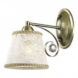 Бра Odeon LightТекстильный плафон<br>Артикул - OD_2918_1W,Бренд - Odeon Light (Италия),Коллекция - Poloma,Гарантия, месяцы - 24,Высота, мм - 230,Тип лампы - компактная люминесцентная [КЛЛ] ИЛИнакаливания ИЛИсветодиодная [LED],Общее кол-во ламп - 1,Напряжение питания лампы, В - 220,Максимальная мощность лампы, Вт - 40,Лампы в комплекте - отсутствуют,Цвет плафонов и подвесок - белый с рисунком, неокрашенный,Тип поверхности плафонов - матовый, прозрачный,Материал плафонов и подвесок - текстиль, хрусталь,Цвет арматуры - бронза,Тип поверхности арматуры - сатин,Материал арматуры - металл,Возможность подлючения диммера - можно, если установить лампу накаливания,Тип цоколя лампы - E14,Класс электробезопасности - I,Степень пылевлагозащиты, IP - 20,Диапазон рабочих температур - комнатная температура,Дополнительные параметры - способ крепления светильника на стене – на монтажной пластине, светильник предназначен для использования со скрытой проводкой<br>