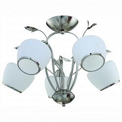 Люстра на штанге IDLamp5 или 6 ламп<br>Артикул - ID_825_5PF-whitechrome,Бренд - IDLamp (Италия),Коллекция - 825,Гарантия, месяцы - 24,Время изготовления, дней - 1,Высота, мм - 400,Диаметр, мм - 600,Тип лампы - компактная люминесцентная [КЛЛ] ИЛИнакаливания ИЛИсветодиодная [LED],Общее кол-во ламп - 5,Напряжение питания лампы, В - 220,Максимальная мощность лампы, Вт - 60,Лампы в комплекте - отсутствуют,Цвет плафонов и подвесок - белый с каймой, неокрашенный,Тип поверхности плафонов - матовый,Материал плафонов и подвесок - стекло, хрусталь,Цвет арматуры - никель,Тип поверхности арматуры - глянцевый,Материал арматуры - металл,Возможность подлючения диммера - можно, если установить лампу накаливания,Тип цоколя лампы - E27,Класс электробезопасности - I,Общая мощность, Вт - 300,Степень пылевлагозащиты, IP - 20,Диапазон рабочих температур - комнатная температура,Дополнительные параметры - способ крепления светильника к потолку — на монтажной пластине<br>