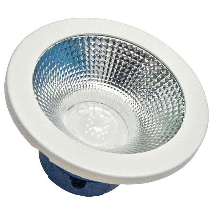 Встраиваемый светильник Led EffectСветильники<br>Артикул - LED_409304,Бренд - Led Effect (Россия),Коллекция - Даунлайт,Гарантия, месяцы - 36,Глубина, мм - 82,Диаметр, мм - 167,Размер врезного отверстия, мм - 140,Размер упаковки, мм - 230x230x120,Тип лампы - светодиодная [LED],Общее кол-во ламп - 1,Максимальная мощность лампы, Вт - 22,Цвет лампы - белый теплый,Лампы в комплекте - светодиодная [LED],Цвет арматуры - белый,Тип поверхности арматуры - матовый,Материал арматуры - металл,Компоненты, входящие в комплект - рефлектор,Цветовая температура, K - 3000 K,Световой поток, лм - 2000,Экономичнее лампы накаливания - В 6, 6 раза,Светоотдача, лм/Вт - 91,Ресурс лампы - 50 тыс. час.,Класс электробезопасности - I,Напряжение питания, В - 175-260,Коэффициент мощности - 0.9,Степень пылевлагозащиты, IP - 40,Диапазон рабочих температур - от -0^C до +45^C,Индекс цветопередачи, % - 80,Пульсации светового потока, % менее - 10,Климатическое исполнение - УХЛ 4<br>