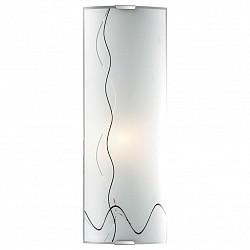 Накладной светильник SonexСветодиодные<br>Артикул - SN_1237_L,Бренд - Sonex (Россия),Коллекция - Birona,Гарантия, месяцы - 24,Размер упаковки, мм - 140x420x420,Тип лампы - компактная люминесцентная [КЛЛ] ИЛИнакаливания ИЛИсветодиодная [LED],Общее кол-во ламп - 1,Напряжение питания лампы, В - 220,Максимальная мощность лампы, Вт - 60,Лампы в комплекте - отсутствуют,Цвет плафонов и подвесок - белый с черным рисунком,Тип поверхности плафонов - матовый,Материал плафонов и подвесок - стекло,Цвет арматуры - хром,Тип поверхности арматуры - глянцевый,Материал арматуры - металл,Возможность подлючения диммера - можно, если установить лампу накаливания,Тип цоколя лампы - E14,Класс электробезопасности - I,Степень пылевлагозащиты, IP - 20,Диапазон рабочих температур - комнатная температура,Дополнительные параметры - способ крепления светильника на потолке и стене - на монтажной пластине, светильник предназначен для использования со скрытой проводкой<br>