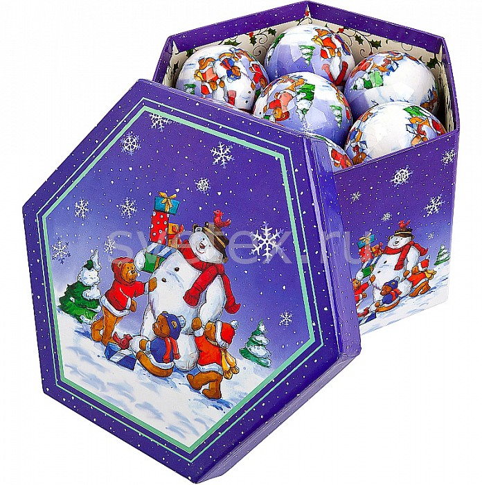 Фото Елочный шар Mister Christmas PM-14