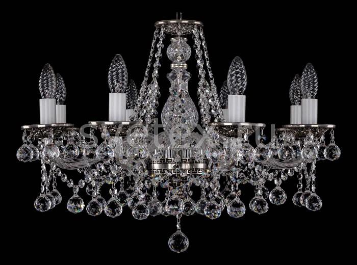 Фото Подвесная люстра Bohemia Ivele Crystal 1613 1613/8/220/NB/Balls