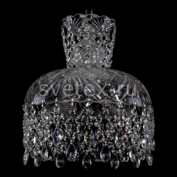 Подвесной светильник Bohemia Ivele CrystalПодвесные светильники<br>Артикул - BI_7711_30_Ni,Бренд - Bohemia Ivele Crystal (Чехия),Коллекция - 7711,Гарантия, месяцы - 12,Высота, мм - 300,Диаметр, мм - 300,Размер упаковки, мм - 380x380x300,Тип лампы - компактная люминесцентная [КЛЛ] ИЛИнакаливания ИЛИсветодиодная [LED],Общее кол-во ламп - 5,Напряжение питания лампы, В - 220,Максимальная мощность лампы, Вт - 40,Лампы в комплекте - отсутствуют,Цвет плафонов и подвесок - неокрашенный,Тип поверхности плафонов - прозрачный,Материал плафонов и подвесок - хрусталь,Цвет арматуры - неокрашенный, никель,Тип поверхности арматуры - глянцевый, прозрачный,Материал арматуры - металл, стекло,Возможность подлючения диммера - можно, если установить лампу накаливания,Тип цоколя лампы - E14,Класс электробезопасности - I,Общая мощность, Вт - 200,Степень пылевлагозащиты, IP - 20,Диапазон рабочих температур - комнатная температура,Дополнительные параметры - способ крепления светильника к потолку – на крюке<br>