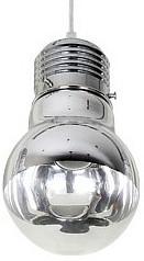 Подвесной светильник Odeon LightБарные<br>Артикул - OD_3351_1,Бренд - Odeon Light (Италия),Коллекция - Telsu,Гарантия, месяцы - 24,Высота, мм - 210-1275,Диаметр, мм - 150,Тип лампы - компактная люминесцентная [КЛЛ] ИЛИнакаливания ИЛИсветодиодная [LED],Общее кол-во ламп - 1,Напряжение питания лампы, В - 220,Максимальная мощность лампы, Вт - 60,Лампы в комплекте - отсутствуют,Цвет плафонов и подвесок - неокрашенный,Тип поверхности плафонов - прозрачный,Материал плафонов и подвесок - стекло,Цвет арматуры - хром,Тип поверхности арматуры - глянцевый,Материал арматуры - металл,Количество плафонов - 1,Возможность подлючения диммера - можно, если установить лампу накаливания,Тип цоколя лампы - E27,Класс электробезопасности - I,Степень пылевлагозащиты, IP - 20,Диапазон рабочих температур - комнатная температура,Дополнительные параметры - способ крепления светильника к потолку - на монтажной пластине, светильник регулируется по высоте<br>