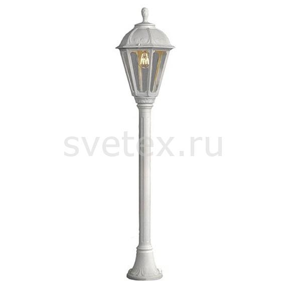 Наземный высокий светильник FumagalliСветильники влагозащищенные<br>Артикул - FU_K22.151.000.WXE27,Бренд - Fumagalli (Италия),Коллекция - Saba,Гарантия, месяцы - 24,Высота, мм - 1110,Диаметр, мм - 220,Тип лампы - компактная люминесцентная [КЛЛ] ИЛИнакаливания ИЛИсветодиодная [LED],Общее кол-во ламп - 1,Напряжение питания лампы, В - 220,Максимальная мощность лампы, Вт - 60,Лампы в комплекте - отсутствуют,Цвет плафонов и подвесок - неокрашенный,Тип поверхности плафонов - прозрачный,Материал плафонов и подвесок - полимер,Цвет арматуры - белый,Тип поверхности арматуры - матовый,Материал арматуры - металл,Количество плафонов - 1,Тип цоколя лампы - E27,Класс электробезопасности - I,Степень пылевлагозащиты, IP - 44,Диапазон рабочих температур - от -40^C до +40^C<br>