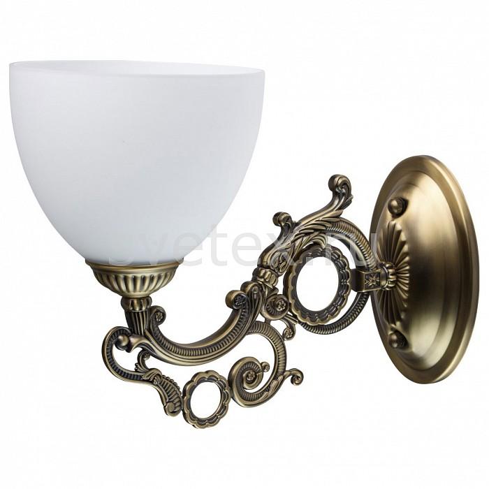 Бра MW-LightНастенные светильники<br>Артикул - MW_450026701,Бренд - MW-Light (Германия),Коллекция - Ариадна 21-22,Гарантия, месяцы - 24,Ширина, мм - 150,Высота, мм - 220,Выступ, мм - 300,Тип лампы - компактная люминесцентная [КЛЛ] ИЛИнакаливания ИЛИсветодиодная [LED],Общее кол-во ламп - 1,Напряжение питания лампы, В - 220,Максимальная мощность лампы, Вт - 60,Лампы в комплекте - отсутствуют,Цвет плафонов и подвесок - белый,Тип поверхности плафонов - матовый,Материал плафонов и подвесок - стекло,Цвет арматуры - бронза античная,Тип поверхности арматуры - матовый, рельефный,Материал арматуры - металл,Количество плафонов - 1,Возможность подлючения диммера - можно, если установить лампу накаливания,Тип цоколя лампы - E27,Класс электробезопасности - I,Степень пылевлагозащиты, IP - 20,Диапазон рабочих температур - комнатная температура,Дополнительные параметры - светильник предназначен для использования со скрытой проводкой<br>