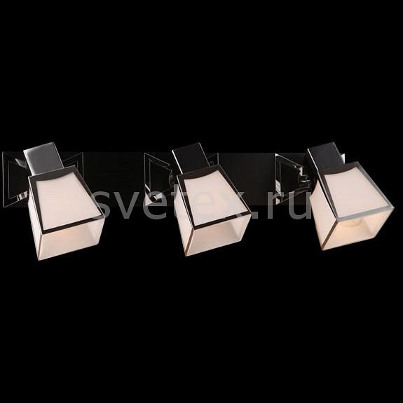 Спот EurosvetС 3 лампами<br>Артикул - EV_6317,Бренд - Eurosvet (Китай),Коллекция - 57021,Гарантия, месяцы - 24,Длина, мм - 460,Ширина, мм - 130,Выступ, мм - 140,Тип лампы - компактная люминесцентная [КЛЛ] ИЛИнакаливания ИЛИсветодиодная [LED],Общее кол-во ламп - 3,Напряжение питания лампы, В - 220,Максимальная мощность лампы, Вт - 40,Лампы в комплекте - отсутствуют,Цвет плафонов и подвесок - белый с хромированной каймой,Тип поверхности плафонов - матовый,Материал плафонов и подвесок - стекло,Цвет арматуры - венге, хром,Тип поверхности арматуры - глянцевый, матовый,Материал арматуры - дерево, металл,Количество плафонов - 3,Тип цоколя лампы - E14,Класс электробезопасности - I,Общая мощность, Вт - 120,Степень пылевлагозащиты, IP - 20,Диапазон рабочих температур - комнатная температура,Дополнительные параметры - поворотный светильник<br>