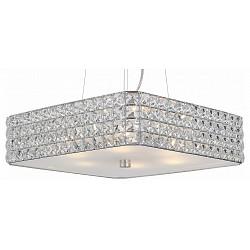 Подвесной светильник ST-LuceС 1 плафоном<br>Артикул - SL751.103.06,Бренд - ST-Luce (Китай),Коллекция - Grande,Гарантия, месяцы - 24,Высота, мм - 150-1200,Тип лампы - компактная люминесцентная [КЛЛ] ИЛИнакаливания ИЛИсветодиодная [LED],Общее кол-во ламп - 6,Напряжение питания лампы, В - 220,Максимальная мощность лампы, Вт - 40,Лампы в комплекте - отсутствуют,Цвет плафонов и подвесок - неокрашенный,Тип поверхности плафонов - прозрачный,Материал плафонов и подвесок - стекло, хрусталь,Цвет арматуры - хром,Тип поверхности арматуры - глянцевый,Материал арматуры - металл,Возможность подлючения диммера - можно, если установить лампу накаливания,Тип цоколя лампы - E14,Класс электробезопасности - I,Общая мощность, Вт - 240,Степень пылевлагозащиты, IP - 20,Диапазон рабочих температур - комнатная температура,Дополнительные параметры - способ крепления светильника к потолку - на монтажной пластине, регулируется по высоте<br>