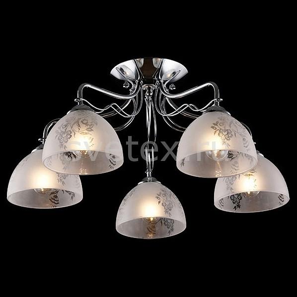 Потолочная люстра ОптимаЛюстры<br>Артикул - EV_76401,Бренд - Оптима (Китай),Коллекция - Оливия,Гарантия, месяцы - 24,Высота, мм - 265,Диаметр, мм - 535,Тип лампы - компактная люминесцентная [КЛЛ] ИЛИнакаливания ИЛИсветодиодная [LED],Общее кол-во ламп - 5,Напряжение питания лампы, В - 220,Максимальная мощность лампы, Вт - 60,Лампы в комплекте - отсутствуют,Цвет плафонов и подвесок - белый с неокрашенным рисунком,Тип поверхности плафонов - матовый,Материал плафонов и подвесок - стекло,Цвет арматуры - хром,Тип поверхности арматуры - глянцевый,Материал арматуры - металл,Количество плафонов - 5,Возможность подлючения диммера - можно, если установить лампу накаливания,Тип цоколя лампы - E27,Класс электробезопасности - I,Общая мощность, Вт - 300,Степень пылевлагозащиты, IP - 20,Диапазон рабочих температур - комнатная температура,Дополнительные параметры - способ крепления светильника к потолку - на монтажной пластине<br>