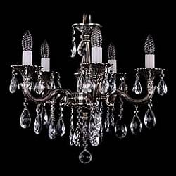 Подвесная люстра Bohemia Ivele Crystal5 или 6 ламп<br>Артикул - BI_1701_5_B_NB,Бренд - Bohemia Ivele Crystal (Чехия),Коллекция - 1701,Гарантия, месяцы - 12,Высота, мм - 400,Диаметр, мм - 560,Размер упаковки, мм - 450x450x200,Тип лампы - компактная люминесцентная [КЛЛ] ИЛИнакаливания ИЛИсветодиодная [LED],Общее кол-во ламп - 5,Напряжение питания лампы, В - 220,Максимальная мощность лампы, Вт - 40,Лампы в комплекте - отсутствуют,Цвет плафонов и подвесок - неокрашенный,Тип поверхности плафонов - прозрачный,Материал плафонов и подвесок - хрусталь,Цвет арматуры - никель черненый,Тип поверхности арматуры - глянцевый, рельефный,Материал арматуры - металл,Возможность подлючения диммера - можно, если установить лампу накаливания,Форма и тип колбы - свеча ИЛИ свеча на ветру,Тип цоколя лампы - E14,Класс электробезопасности - I,Общая мощность, Вт - 200,Степень пылевлагозащиты, IP - 20,Диапазон рабочих температур - комнатная температура,Дополнительные параметры - способ крепления светильника к потолку – на крюке<br>