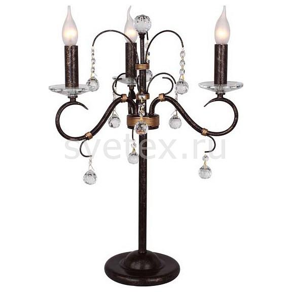 Фото Настольная лампа IDLamp 253 253/3T-Blackplatina