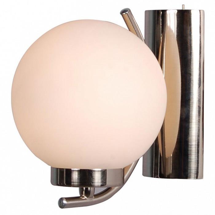 Бра Arte LampНастенные светильники<br>Артикул - AR_A8170AP-1SS,Бренд - Arte Lamp (Италия),Коллекция - Cloud,Гарантия, месяцы - 24,Время изготовления, дней - 1,Ширина, мм - 140,Высота, мм - 160,Выступ, мм - 170,Размер упаковки, мм - 200x200x250,Тип лампы - компактная люминесцентная [КЛЛ] ИЛИнакаливания ИЛИсветодиодная [LED],Общее кол-во ламп - 1,Напряжение питания лампы, В - 220,Максимальная мощность лампы, Вт - 40,Лампы в комплекте - отсутствуют,Цвет плафонов и подвесок - белый,Тип поверхности плафонов - матовый,Материал плафонов и подвесок - стекло,Цвет арматуры - серебро,Тип поверхности арматуры - матовый,Материал арматуры - металл,Количество плафонов - 1,Наличие выключателя, диммера или пульта ДУ - выключатель,Возможность подлючения диммера - можно, если установить лампу накаливания,Тип цоколя лампы - E14,Класс электробезопасности - I,Степень пылевлагозащиты, IP - 20,Диапазон рабочих температур - комнатная температура,Дополнительные параметры - светильник предназначен для использования со скрытой проводкой<br>