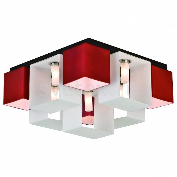 Потолочная люстра ST-LuceЛюстры<br>Артикул - SL536.562.09,Бренд - ST-Luce (Китай),Коллекция - Concreto,Гарантия, месяцы - 24,Длина, мм - 420,Ширина, мм - 400,Высота, мм - 230,Размер упаковки, мм - 490x490x210,Тип лампы - галогеновая,Общее кол-во ламп - 9,Напряжение питания лампы, В - 220,Максимальная мощность лампы, Вт - 40,Цвет лампы - белый теплый,Лампы в комплекте - галогеновые G9,Цвет плафонов и подвесок - белый, красный,Тип поверхности плафонов - матовый,Материал плафонов и подвесок - стекло,Цвет арматуры - черный,Тип поверхности арматуры - матовый,Материал арматуры - металл,Количество плафонов - 9,Возможность подлючения диммера - можно,Форма и тип колбы - пальчиковая,Тип цоколя лампы - G9,Цветовая температура, K - 2800 - 3200 K,Экономичнее лампы накаливания - на 50%,Класс электробезопасности - I,Общая мощность, Вт - 360,Степень пылевлагозащиты, IP - 20,Диапазон рабочих температур - комнатная температура,Дополнительные параметры - способ крепления светильника к потолку – на монтажной пластине<br>
