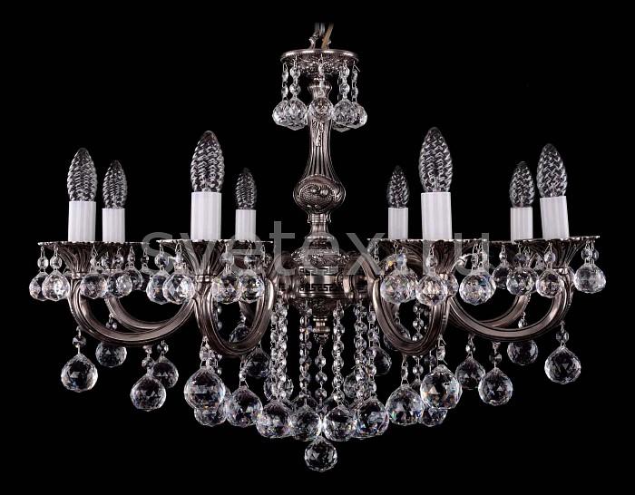 Фото Подвесная люстра Bohemia Ivele Crystal 1702 1702/8/B/NB/Balls
