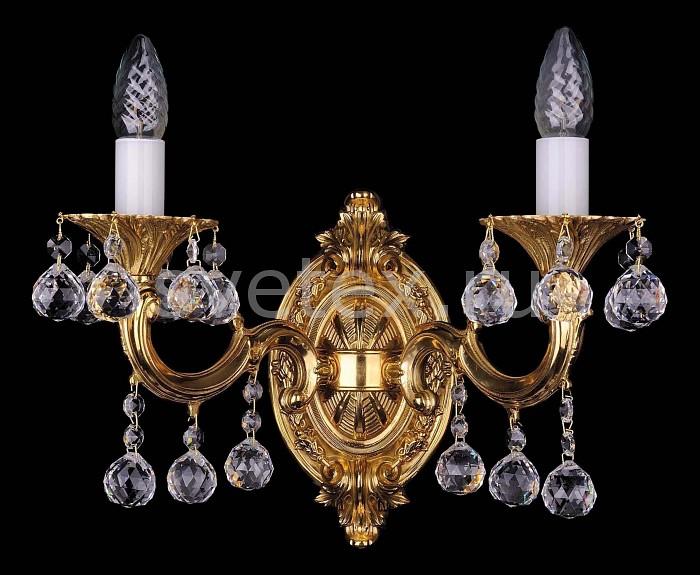 Фото Бра Bohemia Ivele Crystal 1700 1700/2/A/G/Balls