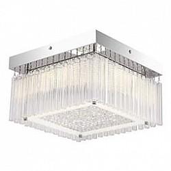 Накладной светильник GloboКвадратные<br>Артикул - GB_49348,Бренд - Globo (Австрия),Коллекция - Heidir,Гарантия, месяцы - 24,Высота, мм - 180,Размер упаковки, мм - 310x310x115,Тип лампы - светодиодная [LED],Общее кол-во ламп - 1,Напряжение питания лампы, В - 48,Максимальная мощность лампы, Вт - 18,Лампы в комплекте - светодиодная [LED],Цвет плафонов и подвесок - неокрашенный,Тип поверхности плафонов - матовый, прозрачный,Материал плафонов и подвесок - стекло, хрусталь K5,Цвет арматуры - хром,Тип поверхности арматуры - глянцевый,Материал арматуры - металл,Возможность подлючения диммера - нельзя,Класс электробезопасности - I,Степень пылевлагозащиты, IP - 20,Диапазон рабочих температур - комнатная температура,Дополнительные параметры - способ крепления светильника к потолку - на монтажной пластине<br>
