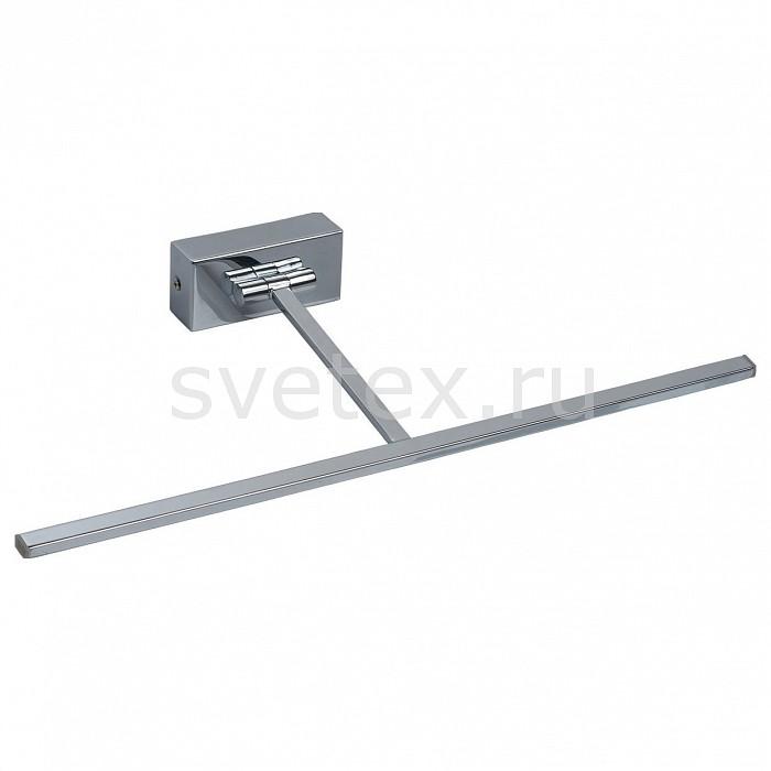 Подсветка для картин MW-LightСветодиодные<br>Артикул - MW_492022801,Бренд - MW-Light (Германия),Коллекция - Котбус 3,Гарантия, месяцы - 24,Ширина, мм - 450,Высота, мм - 50,Выступ, мм - 210,Тип лампы - светодиодная [LED],Общее кол-во ламп - 1,Напряжение питания лампы, В - 220,Максимальная мощность лампы, Вт - 4,Цвет лампы - белый теплый,Лампы в комплекте - светодиодная [LED],Цвет плафонов и подвесок - белый,Тип поверхности плафонов - матовый,Материал плафонов и подвесок - акрил,Цвет арматуры - хром,Тип поверхности арматуры - глянцевый,Материал арматуры - металл,Количество плафонов - 1,Возможность подлючения диммера - нельзя,Цветовая температура, K - 3000 K,Световой поток, лм - 70,Экономичнее лампы накаливания - в 6.3 раза,Светоотдача, лм/Вт - 18,Класс электробезопасности - I,Степень пылевлагозащиты, IP - 20,Диапазон рабочих температур - комнатная температура,Дополнительные параметры - способ крепления светильника на стене – на монтажной пластине, светильник предназначен для использования со скрытой проводкой<br>