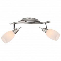 Бра GloboБолее 1 лампы<br>Артикул - GB_54983-2,Бренд - Globo (Австрия),Коллекция - Gillian,Гарантия, месяцы - 24,Высота, мм - 75,Тип лампы - компактная люминесцентная [КЛЛ] ИЛИнакаливания ИЛИсветодиодная [LED],Общее кол-во ламп - 2,Напряжение питания лампы, В - 220,Максимальная мощность лампы, Вт - 40,Лампы в комплекте - отсутствуют,Цвет плафонов и подвесок - белый,Тип поверхности плафонов - матовый,Материал плафонов и подвесок - стекло,Цвет арматуры - никель, хром,Тип поверхности арматуры - глянцевый, матовый,Материал арматуры - металл,Возможность подлючения диммера - можно, если установить лампу накаливания,Форма и тип колбы - свеча,Тип цоколя лампы - E14,Класс электробезопасности - I,Общая мощность, Вт - 80,Степень пылевлагозащиты, IP - 20,Диапазон рабочих температур - комнатная температура,Дополнительные параметры - поворотный светильник, предназначен для использования со скрытой проводкой<br>