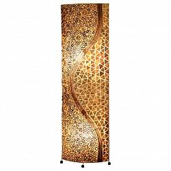 Торшер GloboПолимерный плафон<br>Артикул - GB_25824,Бренд - Globo (Австрия),Коллекция - Bali,Гарантия, месяцы - 24,Высота, мм - 1490,Тип лампы - компактная люминесцентная [КЛЛ] ИЛИнакаливания ИЛИсветодиодная [LED],Общее кол-во ламп - 2,Напряжение питания лампы, В - 220,Максимальная мощность лампы, Вт - 60,Лампы в комплекте - отсутствуют,Цвет плафонов и подвесок - перламутровый, песочный с коричневым рисунком,Тип поверхности плафонов - матовый,Материал плафонов и подвесок - морская ракушка, текстиль,Цвет арматуры - коричневый,Тип поверхности арматуры - глянцевый,Материал арматуры - металл,Тип цоколя лампы - E27,Класс электробезопасности - II,Общая мощность, Вт - 120,Степень пылевлагозащиты, IP - 20,Диапазон рабочих температур - комнатная температура<br>