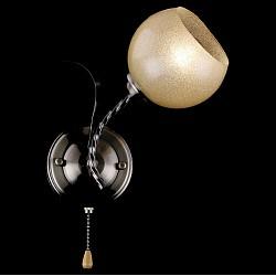 Бра EurosvetС 1 лампой<br>Артикул - EV_76406,Бренд - Eurosvet (Китай),Коллекция - Азалия,Гарантия, месяцы - 24,Высота, мм - 280,Тип лампы - компактная люминесцентная [КЛЛ] ИЛИнакаливания ИЛИсветодиодная [LED],Общее кол-во ламп - 1,Напряжение питания лампы, В - 220,Максимальная мощность лампы, Вт - 60,Лампы в комплекте - отсутствуют,Цвет плафонов и подвесок - бежевый,Тип поверхности плафонов - матовый,Материал плафонов и подвесок - стекло,Цвет арматуры - бронза античная,Тип поверхности арматуры - матовый,Материал арматуры - металл,Возможность подлючения диммера - можно, если установить лампу накаливания,Тип цоколя лампы - E27,Класс электробезопасности - I,Степень пылевлагозащиты, IP - 20,Диапазон рабочих температур - комнатная температура,Дополнительные параметры - способ крепления светильника к стене - на монтажной пластине, светильник предназначен для использования со скрытой проводкой<br>