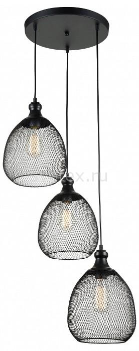 Подвесной светильник MaytoniСветодиодные<br>Артикул - MY_T018-03-B,Бренд - Maytoni (Германия),Коллекция - Grille,Гарантия, месяцы - 24,Время изготовления, дней - 1,Высота, мм - 1240,Диаметр, мм - 300,Тип лампы - компактная люминесцентная [КЛЛ] ИЛИнакаливания ИЛИсветодиодная [LED],Общее кол-во ламп - 3,Напряжение питания лампы, В - 220,Максимальная мощность лампы, Вт - 60,Лампы в комплекте - отсутствуют,Цвет плафонов и подвесок - черный,Тип поверхности плафонов - матовый,Материал плафонов и подвесок - металл,Цвет арматуры - черный,Тип поверхности арматуры - матовый,Материал арматуры - металл,Количество плафонов - 3,Возможность подлючения диммера - можно, если установить лампу накаливания,Тип цоколя лампы - E27,Класс электробезопасности - I,Общая мощность, Вт - 180,Степень пылевлагозащиты, IP - 20,Диапазон рабочих температур - комнатная температура,Дополнительные параметры - диамметр плафона 150 мм, способ крепления светильника к потолку – на монтажной пластине<br>