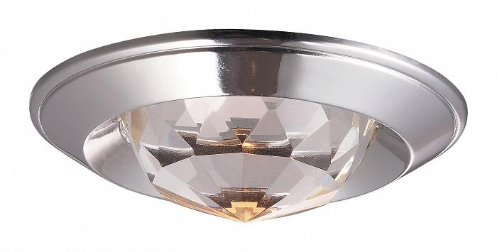 Встраиваемый светильник NovotechХрустальные<br>Артикул - NV_369427,Бренд - Novotech (Венгрия),Коллекция - Glam,Гарантия, месяцы - 24,Время изготовления, дней - 1,Глубина, мм - 20,Диаметр, мм - 80,Размер врезного отверстия, мм - 65,Тип лампы - галогеновая ИЛИсветодиодная [LED],Общее кол-во ламп - 1,Напряжение питания лампы, В - 12,Максимальная мощность лампы, Вт - 50,Лампы в комплекте - отсутствуют,Цвет плафонов и подвесок - неокрашенный,Тип поверхности плафонов - прозрачный, рельефный,Материал плафонов и подвесок - хрусталь,Цвет арматуры - хром,Тип поверхности арматуры - глянцевый,Материал арматуры - алюминиевое литье,Количество плафонов - 1,Возможность подлючения диммера - можно, если установить галогеновую лампу,Форма и тип колбы - полусферическая с рефлектором ИЛИполусферическая с радиатором,Тип цоколя лампы - GX5.3,Экономичнее лампы накаливания - на 50%,Класс электробезопасности - III,Напряжение питания, В - 220,Степень пылевлагозащиты, IP - 20,Диапазон рабочих температур - комнатная температура,Дополнительные параметры - возможна установка лампы GX5.3 (MR-16) на 12 В с подключением через трансформатор 12 В<br>