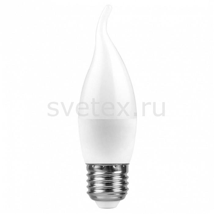 Лампа светодиодная FeronСветодиодные (LED)<br>Артикул - FE_25763,Бренд - Feron (Китай),Коллекция - LB-97,Гарантия, месяцы - 24,Высота, мм - 123,Диаметр, мм - 37,Тип лампы - светодиодная [LED],Напряжение питания лампы, В - 220,Максимальная мощность лампы, Вт - 7,Цвет лампы - белый,Форма и тип колбы - свеча на ветру матовая,Тип цоколя лампы - E27,Цветовая температура, K - 4000 K,Световой поток, лм - 580,Экономичнее лампы накаливания - В 8 раз,Светоотдача, лм/Вт - 83<br>