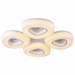 Потолочная люстра ST-LuceПолимерные плафоны<br>Артикул - SL878.502.04,Бренд - ST-Luce (Китай),Коллекция - Regen,Гарантия, месяцы - 24,Высота, мм - 120,Размер упаковки, мм - 870x870x130,Тип лампы - светодиодная [LED],Общее кол-во ламп - 4,Максимальная мощность лампы, Вт - 40,Лампы в комплекте - светодиодные [LED],Цвет плафонов и подвесок - белый,Тип поверхности плафонов - матовый,Материал плафонов и подвесок - акрил,Цвет арматуры - белый,Тип поверхности арматуры - матовый,Материал арматуры - металл,Возможность подлючения диммера - нельзя,Класс электробезопасности - I,Общая мощность, Вт - 160,Степень пылевлагозащиты, IP - 20,Диапазон рабочих температур - комнатная температура,Дополнительные параметры - способ крепления светильника к потолку - на монтажной пластине<br>