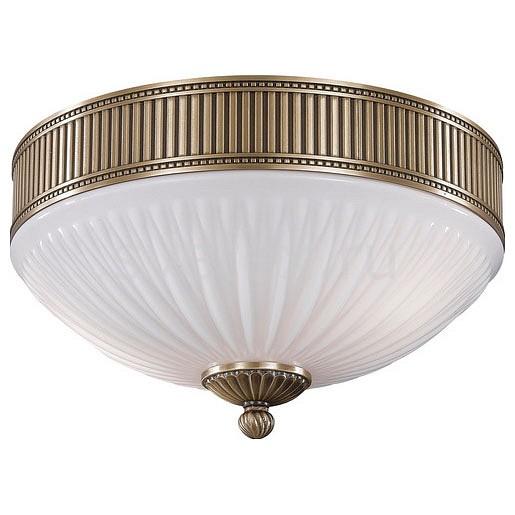 Накладной светильник Reccagni AngeloКруглые<br>Артикул - RA_PL_9250_2,Бренд - Reccagni Angelo (Италия),Коллекция - 9250,Гарантия, месяцы - 24,Высота, мм - 210,Диаметр, мм - 310,Тип лампы - компактная люминесцентная [КЛЛ] ИЛИнакаливания ИЛИсветодиодная [LED],Общее кол-во ламп - 2,Напряжение питания лампы, В - 220,Максимальная мощность лампы, Вт - 60,Лампы в комплекте - отсутствуют,Цвет плафонов и подвесок - белый полосатый,Тип поверхности плафонов - матовый, рельефный,Материал плафонов и подвесок - стекло,Цвет арматуры - бронза состаренная,Тип поверхности арматуры - матовый, рельефный,Материал арматуры - латунь,Количество плафонов - 1,Возможность подлючения диммера - можно, если установить лампу накаливания,Тип цоколя лампы - E27,Класс электробезопасности - I,Общая мощность, Вт - 120,Степень пылевлагозащиты, IP - 20,Диапазон рабочих температур - комнатная температура,Дополнительные параметры - способ крепления светильника к потолку - на монтажной пластине<br>