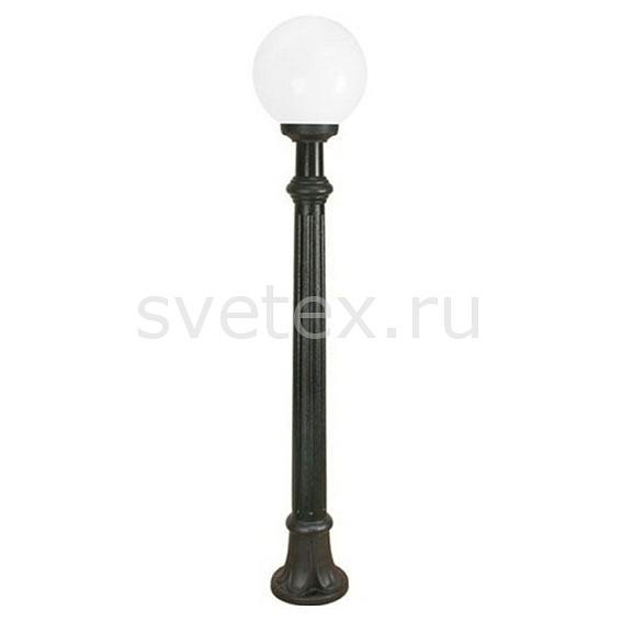 Наземный высокий светильник FumagalliСветильники<br>Артикул - FU_G25.163.000.AYE27,Бренд - Fumagalli (Италия),Коллекция - Globe 250,Гарантия, месяцы - 24,Высота, мм - 1350,Диаметр, мм - 250,Тип лампы - компактная люминесцентная [КЛЛ] ИЛИнакаливания ИЛИсветодиодная [LED],Общее кол-во ламп - 1,Напряжение питания лампы, В - 220,Максимальная мощность лампы, Вт - 60,Лампы в комплекте - отсутствуют,Цвет плафонов и подвесок - белый,Тип поверхности плафонов - матовый,Материал плафонов и подвесок - полимер,Цвет арматуры - черный,Тип поверхности арматуры - матовый,Материал арматуры - металл,Количество плафонов - 1,Тип цоколя лампы - E27,Класс электробезопасности - I,Степень пылевлагозащиты, IP - 55,Диапазон рабочих температур - от -40^C до +40^C<br>