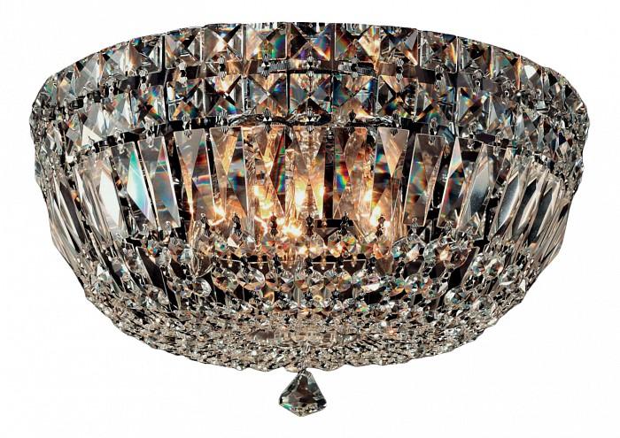 Накладной светильник MantraКруглые<br>Артикул - MN_4613,Бренд - Mantra (Испания),Коллекция - Crystal 4,Гарантия, месяцы - 24,Время изготовления, дней - 1,Высота, мм - 180,Диаметр, мм - 370,Тип лампы - галогеновая ИЛИсветодиодная [LED],Общее кол-во ламп - 5,Напряжение питания лампы, В - 220,Максимальная мощность лампы, Вт - 40,Лампы в комплекте - отсутствуют,Цвет плафонов и подвесок - неокрашенный, хром,Тип поверхности плафонов - прозрачный,Материал плафонов и подвесок - хрусталь,Цвет арматуры - хром,Тип поверхности арматуры - глянцевый,Материал арматуры - металл,Количество плафонов - 1,Возможность подлючения диммера - можно, если установить галогеновую лампу,Форма и тип колбы - пальчиковая,Тип цоколя лампы - G9,Класс электробезопасности - I,Общая мощность, Вт - 200,Степень пылевлагозащиты, IP - 20,Диапазон рабочих температур - комнатная температура<br>