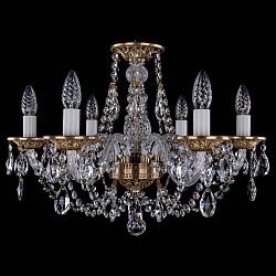Подвесная люстра Bohemia Ivele Crystal5 или 6 ламп<br>Артикул - BI_1606_6_195_FP,Бренд - Bohemia Ivele Crystal (Чехия),Коллекция - 1606,Гарантия, месяцы - 12,Высота, мм - 410,Диаметр, мм - 580,Размер упаковки, мм - 450x450x200,Тип лампы - компактная люминесцентная [КЛЛ] ИЛИнакаливания ИЛИсветодиодная [LED],Общее кол-во ламп - 6,Напряжение питания лампы, В - 220,Максимальная мощность лампы, Вт - 40,Лампы в комплекте - отсутствуют,Цвет плафонов и подвесок - неокрашенный,Тип поверхности плафонов - прозрачный,Материал плафонов и подвесок - хрусталь,Цвет арматуры - патина французская, неокрашенный,Тип поверхности арматуры - глянцевый, прозрачный,Материал арматуры - металл, стекло,Возможность подлючения диммера - можно, если установить лампу накаливания,Форма и тип колбы - свеча ИЛИ свеча на ветру,Тип цоколя лампы - E14,Класс электробезопасности - I,Общая мощность, Вт - 240,Степень пылевлагозащиты, IP - 20,Диапазон рабочих температур - комнатная температура,Дополнительные параметры - способ крепления светильника к потолку – на крюке<br>