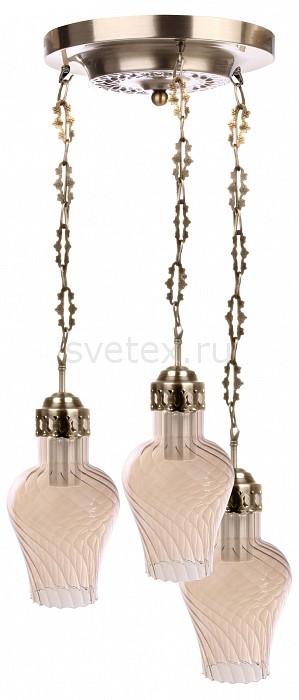 Подвесной светильник 33 идеиСветодиодные<br>Артикул - ZZ_PND.104.03.01.AB-A.01_3,Бренд - 33 идеи (Россия),Коллекция - PND.104,Высота, мм - 990,Диаметр, мм - 400,Размер упаковки, мм - 340x260x60, 3*340x260x60,Тип лампы - компактная люминесцентная [КЛЛ] ИЛИнакаливания ИЛИсветодиодная [LED],Общее кол-во ламп - 3,Напряжение питания лампы, В - 220,Максимальная мощность лампы, Вт - 75,Лампы в комплекте - отсутствуют,Цвет плафонов и подвесок - бежевый,Тип поверхности плафонов - прозрачный, рельефный,Материал плафонов и подвесок - стекло,Цвет арматуры - латунь античная,Тип поверхности арматуры - глянцевый, рельефный,Материал арматуры - металл,Количество плафонов - 3,Возможность подлючения диммера - можно, если установить лампу накаливания,Тип цоколя лампы - E27,Класс электробезопасности - I,Общая мощность, Вт - 225,Степень пылевлагозащиты, IP - 20,Диапазон рабочих температур - комнатная температура,Дополнительные параметры - диаметр основания светильника 250 мм, диаметр плафона 150 мм, способ крепления светильника к потолку – на монтажной пластине<br>