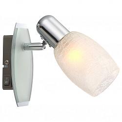 Бра GloboС 1 лампой<br>Артикул - GB_54917-1,Бренд - Globo (Австрия),Коллекция - Cyclone,Гарантия, месяцы - 24,Время изготовления, дней - 1,Высота, мм - 165,Тип лампы - компактная люминесцентная [КЛЛ] ИЛИнакаливания ИЛИсветодиодная [LED],Общее кол-во ламп - 1,Напряжение питания лампы, В - 220,Максимальная мощность лампы, Вт - 40,Лампы в комплекте - отсутствуют,Цвет плафонов и подвесок - белый,Тип поверхности плафонов - матовый,Материал плафонов и подвесок - стекло,Цвет арматуры - хром,Тип поверхности арматуры - глянцевый,Материал арматуры - металл,Возможность подлючения диммера - можно, если установить лампу накаливания,Форма и тип колбы - свеча,Тип цоколя лампы - E14,Класс электробезопасности - I,Степень пылевлагозащиты, IP - 20,Диапазон рабочих температур - комнатная температура,Дополнительные параметры - поворотный светильник, предназначен для использования со скрытой проводкой<br>