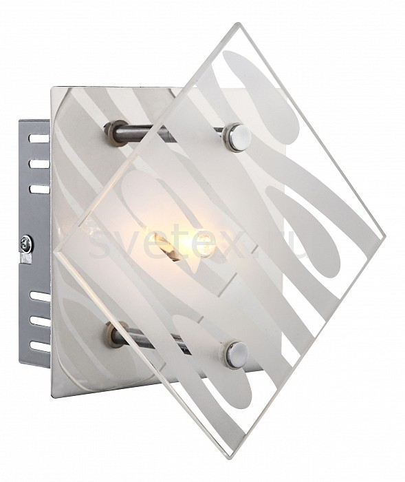 Накладной светильник GloboКвадратные<br>Артикул - GB_48694-1,Бренд - Globo (Австрия),Коллекция - Carat,Гарантия, месяцы - 24,Длина, мм - 170,Ширина, мм - 170,Выступ, мм - 78,Размер упаковки, мм - 140x60x140,Тип лампы - галогеновая,Общее кол-во ламп - 1,Напряжение питания лампы, В - 220,Максимальная мощность лампы, Вт - 33,Цвет лампы - белый теплый,Лампы в комплекте - галогеновая G9,Цвет плафонов и подвесок - неокрашенный полосатый,Тип поверхности плафонов - матовый, прозрачный,Материал плафонов и подвесок - стекло,Цвет арматуры - хром,Тип поверхности арматуры - глянцевый,Материал арматуры - металл,Количество плафонов - 1,Возможность подлючения диммера - можно,Форма и тип колбы - пальчиковая,Тип цоколя лампы - G9,Цветовая температура, K - 2800 - 3200 K,Экономичнее лампы накаливания - на 50%,Класс электробезопасности - I,Степень пылевлагозащиты, IP - 20,Диапазон рабочих температур - комнатная температура,Дополнительные параметры - способ крепления светильника к стене и потолку - на монтажной пластине<br>