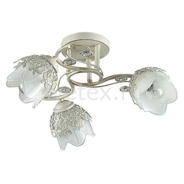 Потолочная люстра LumionЛюстры<br>Артикул - LMN_3002_3C,Бренд - Lumion (Италия),Коллекция - Florana,Гарантия, месяцы - 24,Высота, мм - 440,Диаметр, мм - 200,Размер упаковки, мм - 100x350x470,Тип лампы - компактная люминесцентная [КЛЛ] ИЛИнакаливания ИЛИсветодиодная [LED],Общее кол-во ламп - 3,Напряжение питания лампы, В - 220,Максимальная мощность лампы, Вт - 40,Лампы в комплекте - отсутствуют,Цвет плафонов и подвесок - белый, неокрашенный,Тип поверхности плафонов - матовый, прозрачный,Материал плафонов и подвесок - металл, стекло, хрусталь,Цвет арматуры - белый с золотой патиной,Тип поверхности арматуры - матовый,Материал арматуры - металл,Количество плафонов - 3,Возможность подлючения диммера - можно, если установить лампу накаливания,Тип цоколя лампы - E14,Класс электробезопасности - I,Общая мощность, Вт - 120,Степень пылевлагозащиты, IP - 20,Диапазон рабочих температур - комнатная температура,Дополнительные параметры - способ крепления к потолку - на монтажной пластине<br>