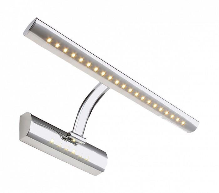 Подсветка для картин Kink LightСветодиодные<br>Артикул - KL_6431-1.02,Бренд - Kink Light (Китай),Коллекция - Проекция,Гарантия, месяцы - 24,Ширина, мм - 400,Высота, мм - 50,Размер упаковки, мм - 100x450x428770,Тип лампы - светодиодная [LED],Общее кол-во ламп - 1,Напряжение питания лампы, В - 220,Максимальная мощность лампы, Вт - 5,Цвет лампы - белый,Лампы в комплекте - светодиодная [LED],Цвет плафонов и подвесок - хром,Тип поверхности плафонов - глянцевый,Материал плафонов и подвесок - металл,Цвет арматуры - хром,Тип поверхности арматуры - глянцевый,Материал арматуры - металл,Количество плафонов - 1,Наличие выключателя, диммера или пульта ДУ - выключатель,Цветовая температура, K - 4000 K,Световой поток, лм - 325,Экономичнее лампы накаливания - В 7, 2 раза,Светоотдача, лм/Вт - 65,Класс электробезопасности - I,Степень пылевлагозащиты, IP - 20,Диапазон рабочих температур - комнатная температура,Дополнительные параметры - способ крепления светильника к стене - на монтажной пластине, светильник предназначен для использования со скрытой проводкой<br>