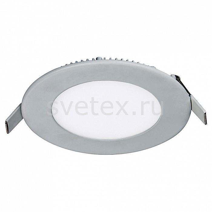 Встраиваемый светильник FavouriteКруглые<br>Артикул - FV_1342-6C,Бренд - Favourite (Германия),Коллекция - Flashled,Гарантия, месяцы - 24,Время изготовления, дней - 1,Глубина, мм - 14,Диаметр, мм - 120,Размер врезного отверстия, мм - 120,Тип лампы - светодиодная [LED],Общее кол-во ламп - 6,Напряжение питания лампы, В - 220,Максимальная мощность лампы, Вт - 1,Цвет лампы - белый,Лампы в комплекте - светодиодные [LED],Цвет плафонов и подвесок - белый,Тип поверхности плафонов - матовый,Материал плафонов и подвесок - стекло,Цвет арматуры - серебро,Тип поверхности арматуры - матовый,Материал арматуры - металл,Количество плафонов - 1,Цветовая температура, K - 4000 - 4200 K,Экономичнее лампы накаливания - в 15 раз,Класс электробезопасности - I,Общая мощность, Вт - 6,Степень пылевлагозащиты, IP - 21,Диапазон рабочих температур - комнатная температура<br>