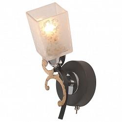 Бра IDLampС 1 лампой<br>Артикул - ID_206_1A-Blackchrome,Бренд - IDLamp (Италия),Коллекция - 206,Высота, мм - 230,Тип лампы - компактная люминесцентная [КЛЛ] ИЛИнакаливания ИЛИсветодиодная [LED],Общее кол-во ламп - 1,Напряжение питания лампы, В - 220,Максимальная мощность лампы, Вт - 60,Лампы в комплекте - отсутствуют,Цвет плафонов и подвесок - белый с рисунком,Тип поверхности плафонов - матовый,Материал плафонов и подвесок - стекло,Цвет арматуры - коричневый, хром, черный,Тип поверхности арматуры - глянцевый, матовый,Материал арматуры - металл,Возможность подлючения диммера - можно, если установить лампу накаливания,Тип цоколя лампы - E14,Класс электробезопасности - I,Степень пылевлагозащиты, IP - 20,Диапазон рабочих температур - комнатная температура,Дополнительные параметры - светильник предназначен для использования со скрытой проводкой, способ крепления светильника к стене – на монтажной пластине<br>
