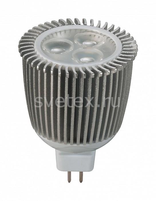 Фото Лампа светодиодная Novotech GX5.3 12В 6Вт 3000 K 357076